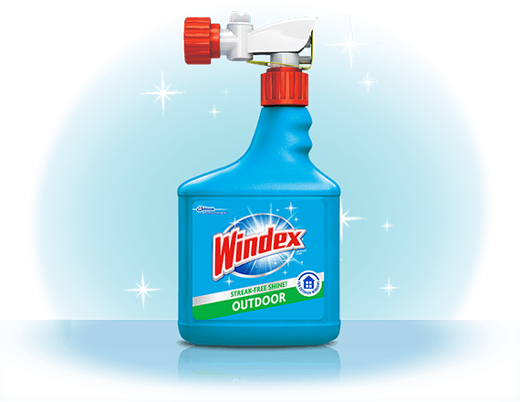 Windex® Outdoor Sprayer Window Cleaner Front